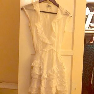 Alice Temperley white & lace designer summer dress